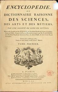 Encyklopedie (Encyclopédie) Denise Diderota